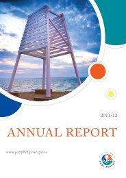 Annual Report 2011/12 (FULL 3MB) - City of Port Phillip