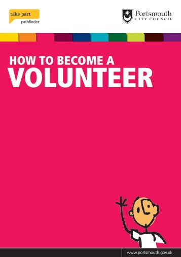 How to become a volunteer - Portsmouth City Council
