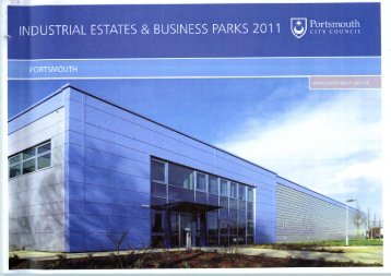 Industrial Estates Register 2011 (10.09 MB) - Portsmouth City Council