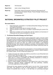 Natoinal Brownfield Strategy Pilot Project - Portsmouth City Council