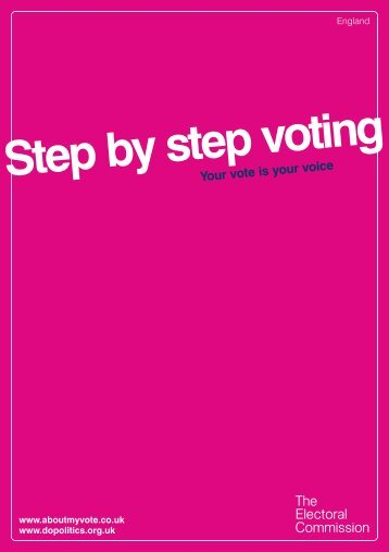 Step by step guide to voting - Portsmouth City Council