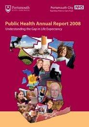 Public Health Annual Report 2008 - Portsmouth City Council