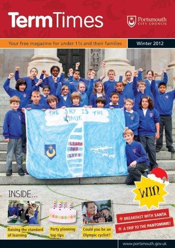 Term Times magazine - November 2012 - Portsmouth City Council