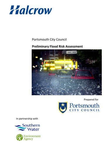 Draft preliminary Flood Risk Assessment appendix - Portsmouth City ...