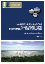 Habitats Regulations Assessment - Portsmouth City Council