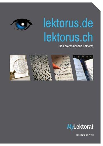 lektorus.de lektorus.ch