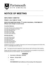 Agenda of 3 July 2009 - Portsmouth City Council
