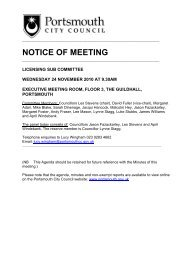 Agenda of 24 November 2010 - Portsmouth City Council