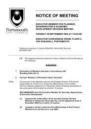 Agenda of 28 September 2004 - Portsmouth City Council
