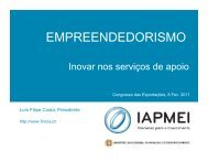 EMPREENDEDORISMO - aicep Portugal Global