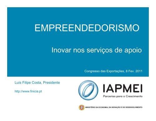EMPREENDEDORISMO - aicep Portugal Global