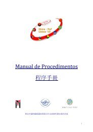 Manual de Procedimentos 程序手冊 - aicep Portugal Global