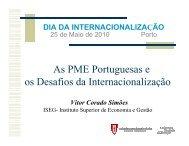 As PME Portuguesas e os Desafios da Internacionalização