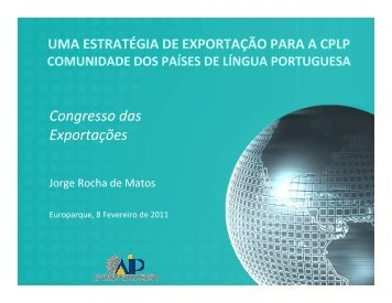 AIP Jorge Rocha de Matos - aicep Portugal Global