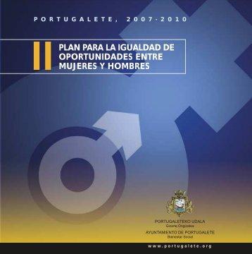 II Plan para la Igualdad de Mujeres y Hombres ... - Portuigualdad