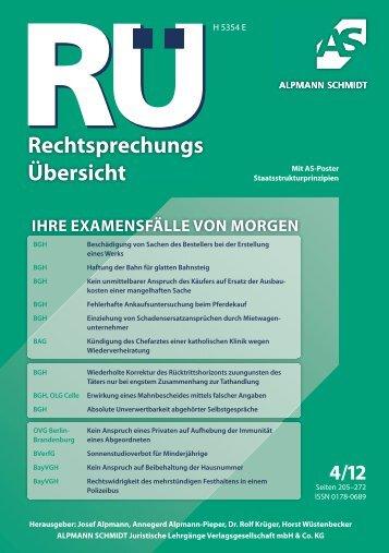 Staatsstrukturprinzipien - Alpmann Schmidt