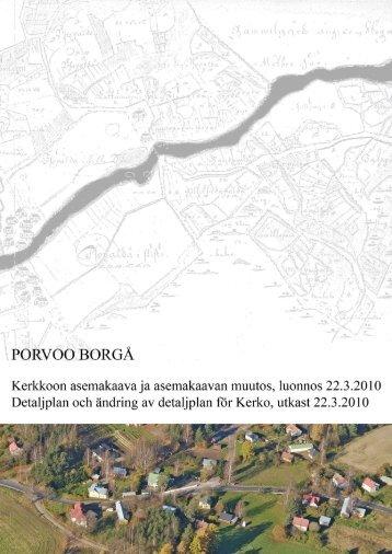 selostus liitteineen - Porvoo