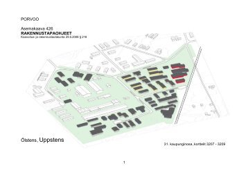 rakennustapaohjeet - Porvoo