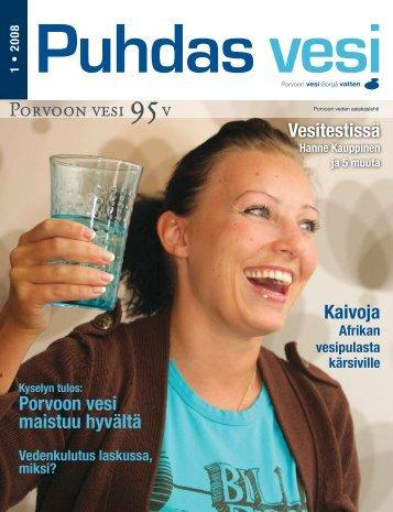 Puhdas vesi 1/2008 - Porvoo