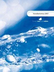 Vuosikertomus 2007 - Porvoo