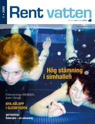 Rent vatten 1/2009 - Porvoo