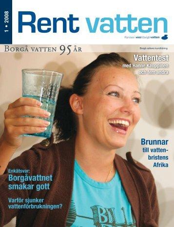 Rent vatten 1/2008 - Porvoo