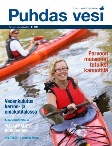 Puhdas vesi 1/2012 - Porvoo