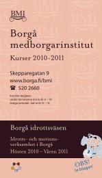 Borgå medborgarinstitut - Porvoo