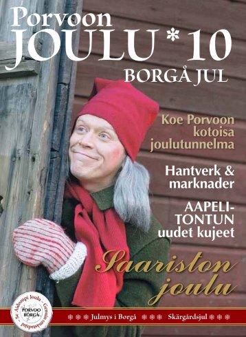 Porvoon ja Loviisan joulu 2010 – lehti