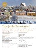 Porvoon ja Loviisan joulu 2010 – lehti - Page 3
