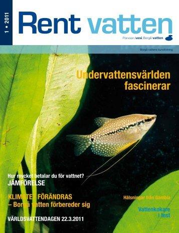 Rent vatten 1/2011 - Porvoo
