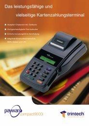 Herstellerprospekt - POS-Cash