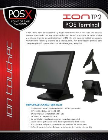 ION T ouchpC - POS-X