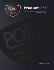 Product Linev4 - POS-X
