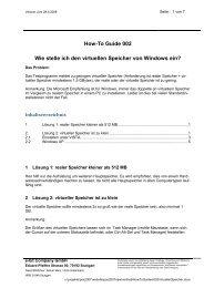 Wie stelle ich den virtuellen Speicher von Windows ein?