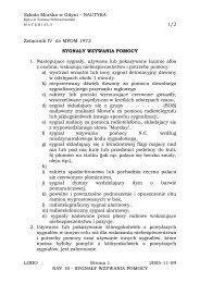 Szkoła Morska w Gdyni – NAUTYKA 1/2 LOBO Strona 1 ... - posejdon