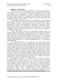 Promocja ksiąŜki ENCYKLOPEDIA Gdyni (stenogram ... - posejdon