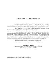 PORTARIA Nº 64 , DE 6 DE OUTUBRO DE 2011 ... - Pós-Graduação