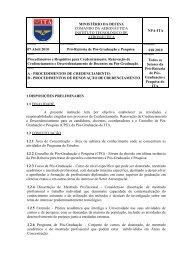 Procedimentos e Requisitos para Credenciamento, Renovação de ...