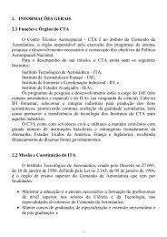 Informações Gerais - Pós-Graduação - ITA