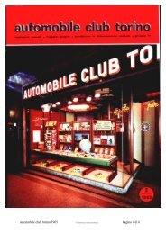 automobile club torino 1965 Pagina 1 di 6 - Abarth-e-Co