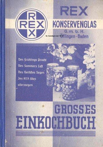 Rex Einkochbuch Teil 2 - Abarth-e-Co