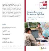 European Commerce Competence (Eucoco) - Diakonie ...