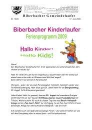 Biberbacher Gemeindelaufer