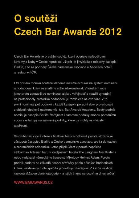 Untitled - Česká barmanská asociace