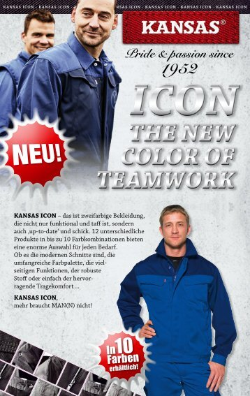 Kansas ICON - Wachter Workwear GmbH