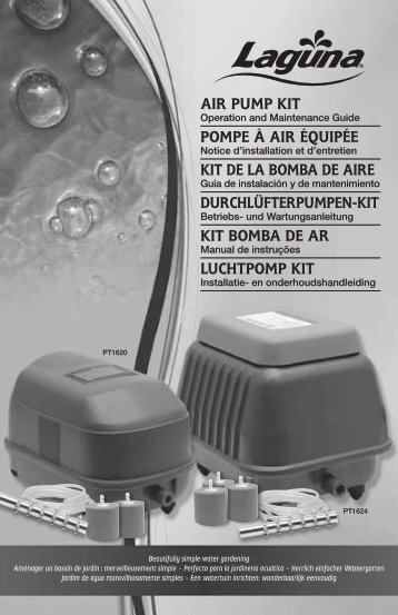 Air PumP Kit PomPe à Air équiPée Kit de lA bombA de Aire ...