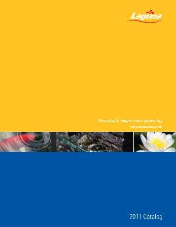 2011 Catalog - Lagunaponds.com