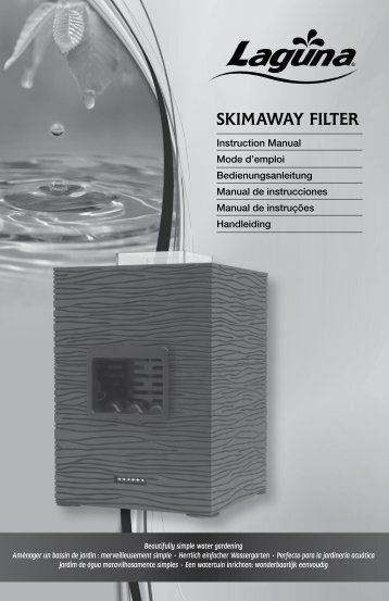SKIMAWAY FILTER - Lagunaponds.com