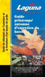 Guide printemps - Lagunaponds.com